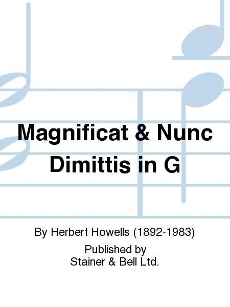 Magnificat & Nunc Dimittis in G