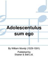 Adolescentulus sum ego