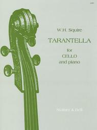 Tarantella By William Henry Squire Sheet Music For Cello
