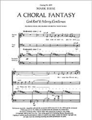 Christmas Trilogy: No. 3. God Rest Ye Merry, Gentlemen (Choral Score)