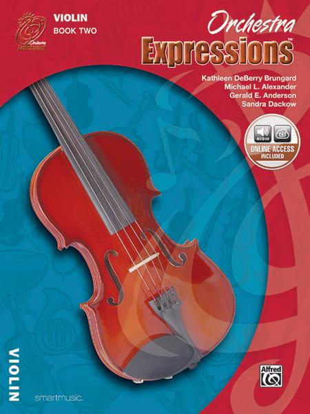 Orchestra Expressions: Student Edition, Book Two - Violin