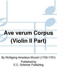 Ave verum Corpus (Violin II Part)
