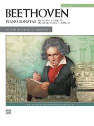 Beethoven -- Piano Sonatas, Volume 2