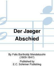 Der Jaeger Abschied (The Hunter's Farewell)