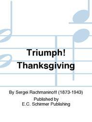 Triumph! Thanksgiving