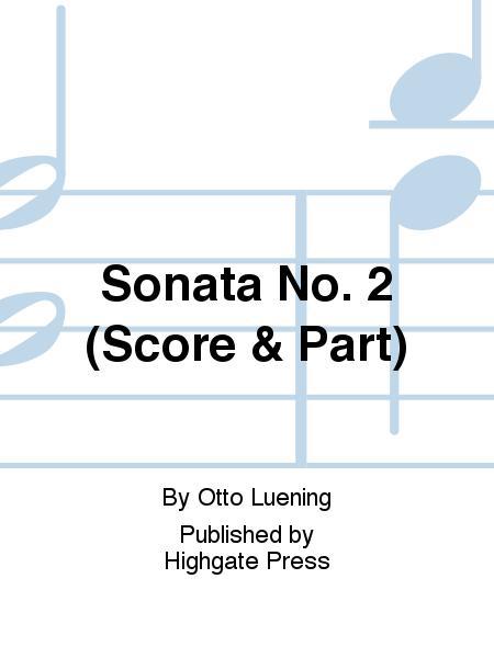 Sonata No. 2 (Score & part)