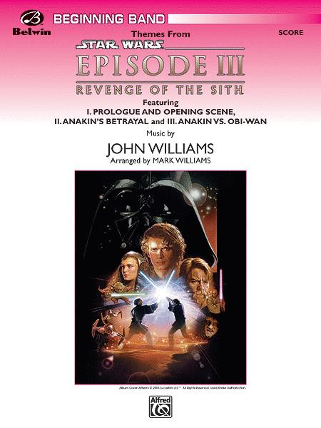 Themes From Star Wars Episode Iii Revenge Of The Sith By John Williams Score Sheet Music For Concert Band Buy Print Music Ap Cbm05015c From Belwin Music At Sheet Music Plus