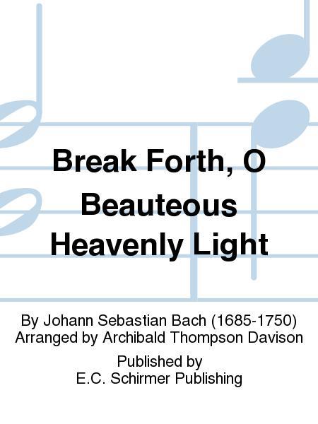 Christmas Oratorio, The: Break Forth, O Beauteous Heavenly Light, BWV 248