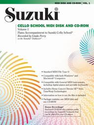 Suzuki Cello School MIDI Disk Acc./CD-ROM, Volume 1