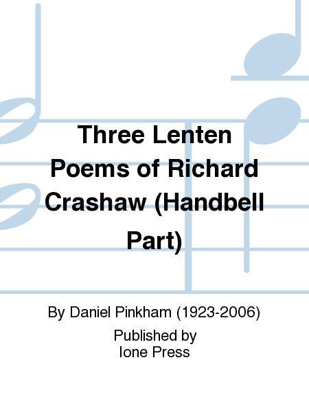 Three Lenten Poems of Richard Crashaw (Handbell Parts)