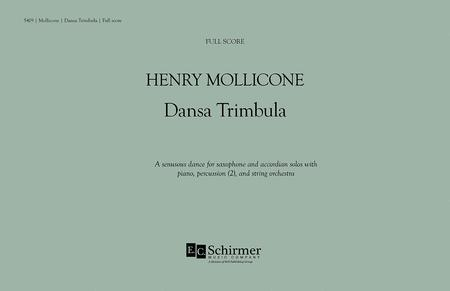 Dansa Trimbula (Additional Full Score)