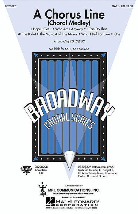 A Chorus Line - ShowTrax CD