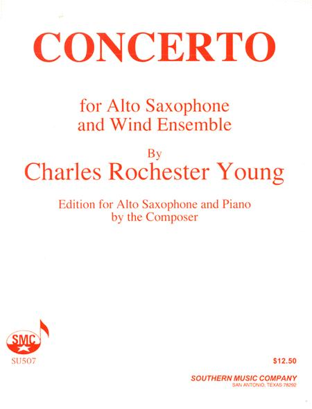 Concerto for Saxophone and Wind Ensemble