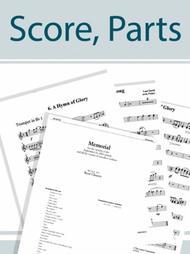 A La Nanita - Instrumental Score and Parts (no Strings)