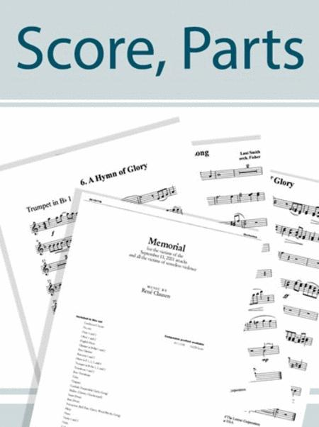 Battle Hymn of the Republic - Brass and Percussion Score and Parts