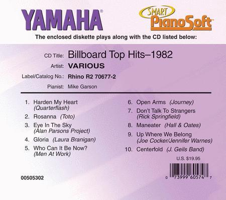 Billboard Top Hits - 1982 - Piano Software