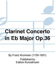 Clarinet Concerto in Eb Major Op. 36