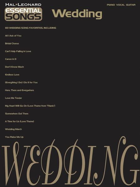 Essential Songs - Wedding