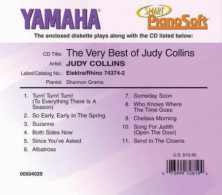The Very Best of Judy Collins - Piano Software