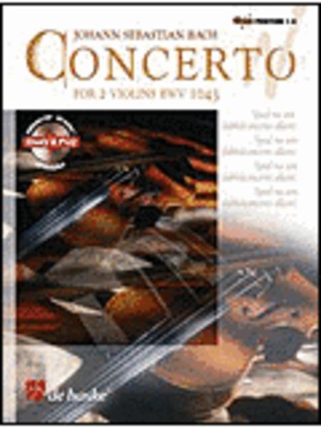 Concerto For 2 Violins Bwv 1043 Book/CD Intrmed