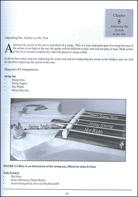 Guitar Setup  Maintenance  U0026 Repair By John Levan