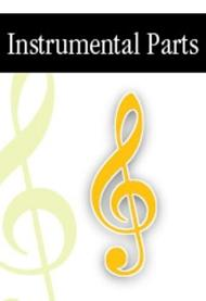 Dixit - Instrumental Score and Parts