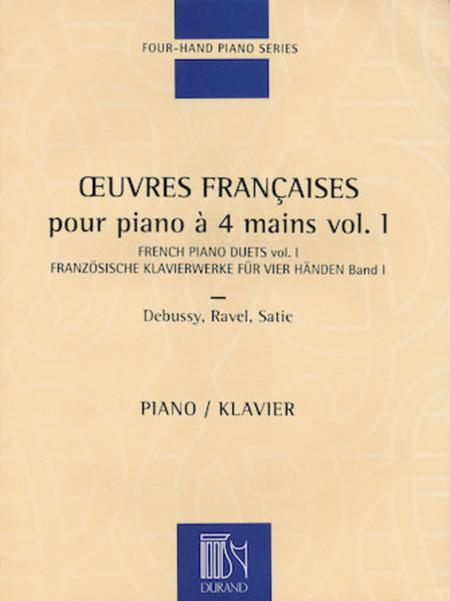 French Piano Duets - Volume 1