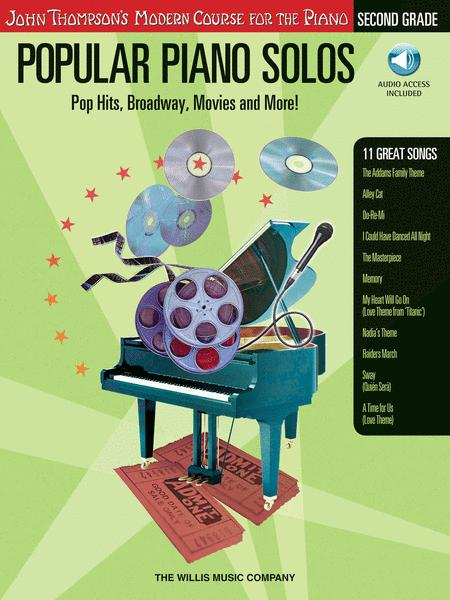Popular Piano Solos - Grade 2 - Book/Audio