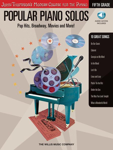 Popular Piano Solos - Grade 5 - Book/Audio