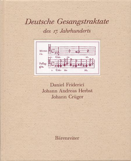Deutsche Gesangstraktate des 17. Jahrhunderts
