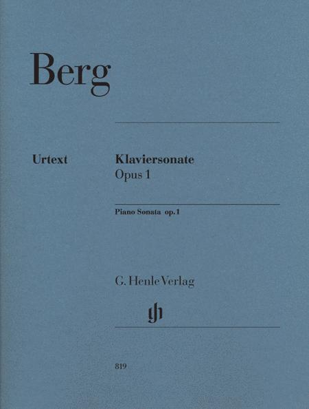 Piano Sonata op. 1