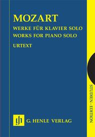 Mozart: Works for piano solo