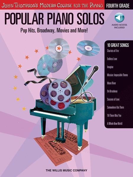Popular Piano Solos - Grade 4 - Book/Audio