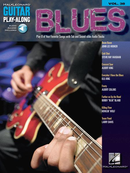 Blues - Guitar Play-Along Volume 38