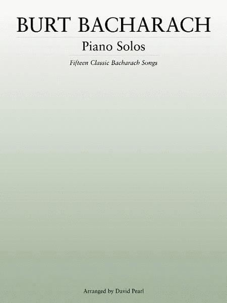 Burt Bacharach - Piano Solos