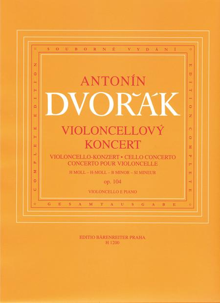 Concerto for Violoncello and Orchestra B minor, op. 104