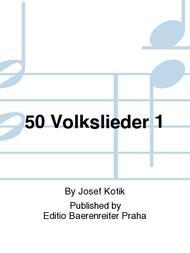 50 Volkslieder 1