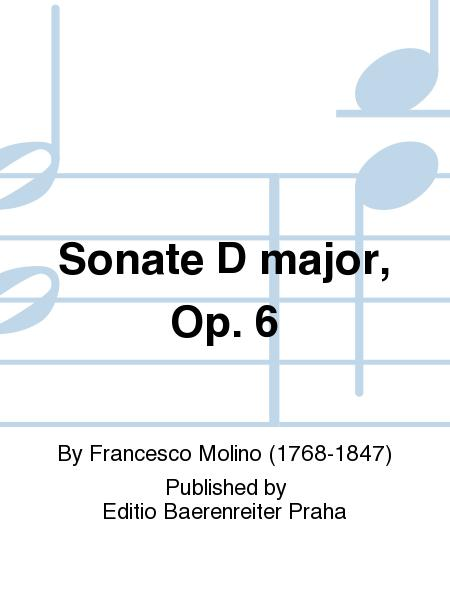Sonate D major, Op. 6