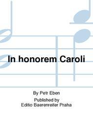 In honorem Caroli