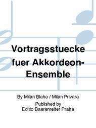 Vortragsstuecke fuer Akkordeon-Ensemble