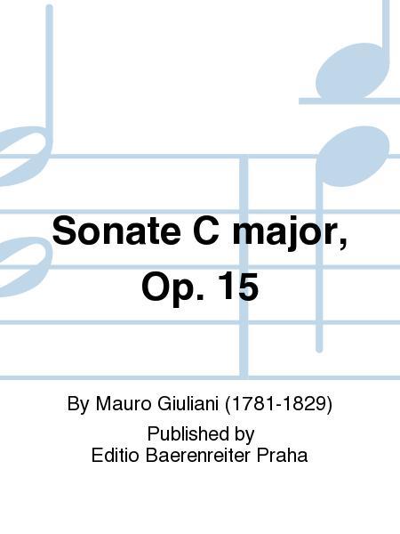 Sonate C-Dur, op. 15