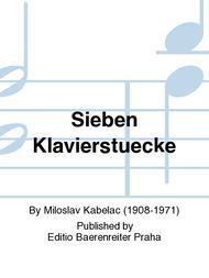 Seven Piano Pieces