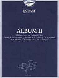 Album Vol. II (Easy) Viola and Piano