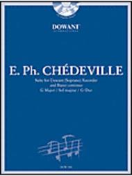 Chedeville: Suite in G Major for Descant (Soprano) Recorder and Basso Continuo