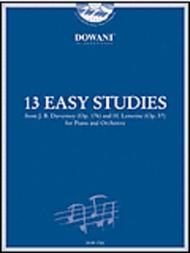 13 Easy Studies for Piano and Orchestra
