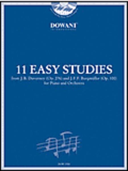 11 Easy Studies by Duvernoy (Op. 276) and Burgmuller (Op. 100)