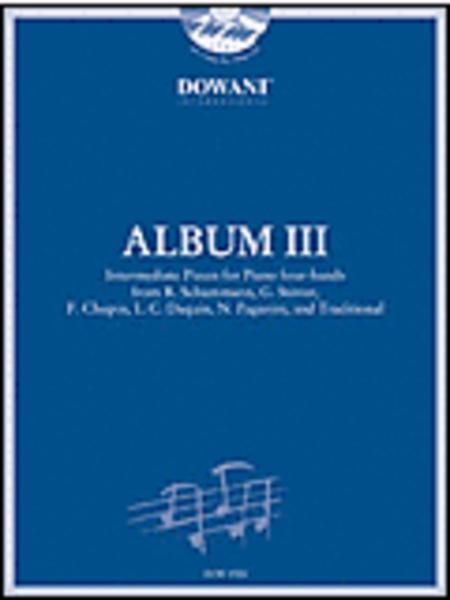 Album III for piano four-hands