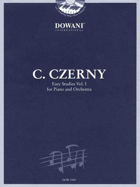 Czerny: Easy Studies - Volume 1 for Piano and Orchestra