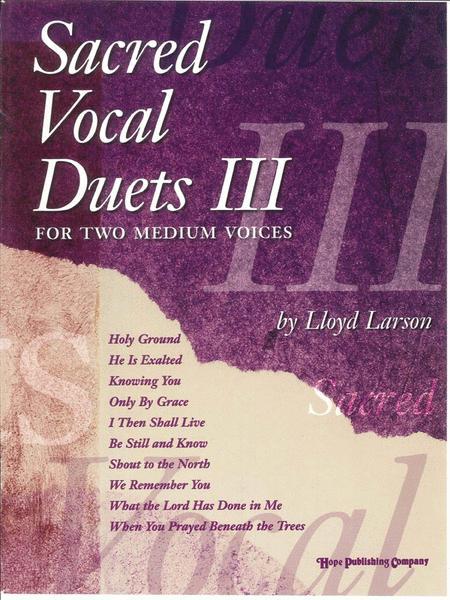Sacred Vocal Duets III (2 Medium Voices)