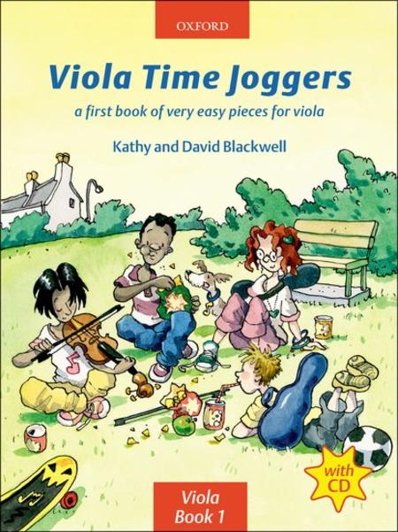 Viola Time Joggers (with CD)